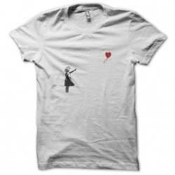 Banksy t-shirt Little girl...