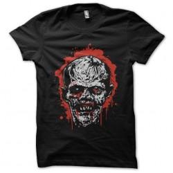 tee shirt Zombie face...
