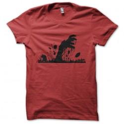 red zombie hand t-shirt...