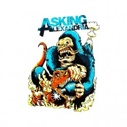 t-shirt asking alexandria...