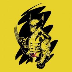Wolverine shirt yellow sublimation