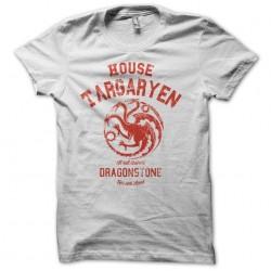 Tee Shirt GoT house Targaryen University  sublimation