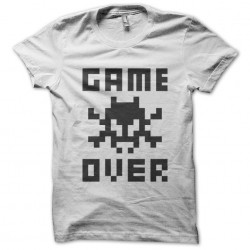 Tee Shirt Game Over  sur...