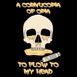 t-shirt cornucopia of opia black sublimation