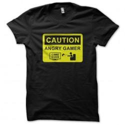 tee shirt caution angry...