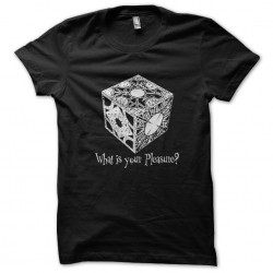 tee shirt What Is your Pleasure black sublimation
