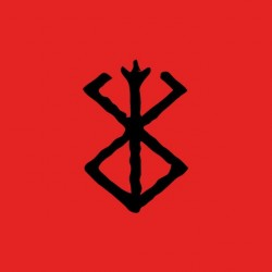 Berserk red sublimation t-shirt