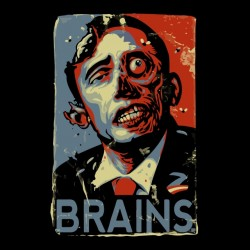 tee shirt obama cerveau   sublimation