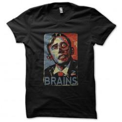 tee shirt obama cerveau...