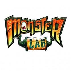 T-shirt Monster Lab white...