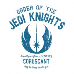University Jedi knights Tee...