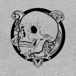t-shirt tattoo crane gray...