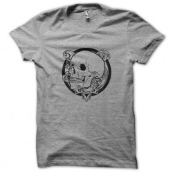 tee shirt tatouage crane gris sublimation