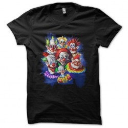 t-shirt scary clowns black...