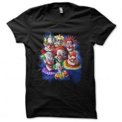 t-shirt scary clowns black...