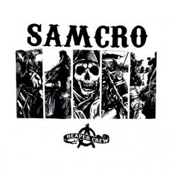 shirt white Samcro sublimation