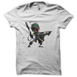 Boba white sublimation t-shirt