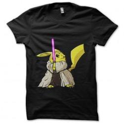 t-shirt pikachu jedi black...