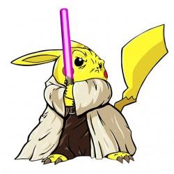 tee shirt pikachu jedi...