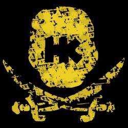 Hk army t-shirt skull and...