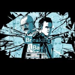 Breaking Bad black sublimation t-shirt