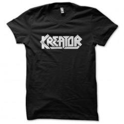 Tee Shirt Kreator black...