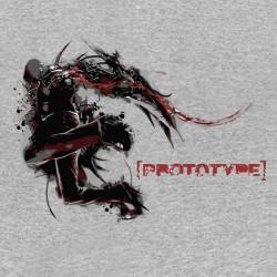 tee shirt Prototype gris...