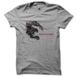 Prototype gray sublimation t-shirt