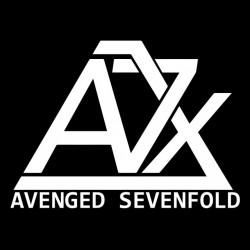 shirt avenged sevenfold Logo black sublimation