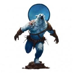 white warrior bear t-shirt...