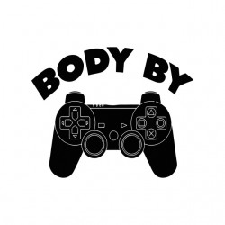 body by manette t-shirt playstation white sublimation