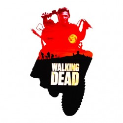 tee shirt walking dead...