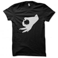 black sublimation hand sign...