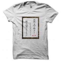 t-shirt signs last samurai white sublimation