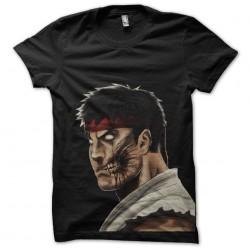 tee shirt Ryu en zombie de...