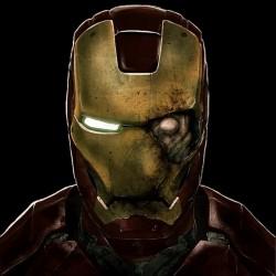 Iron Man t-shirt Zombie black sublimation