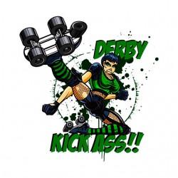 tee shirt derby kick ass...