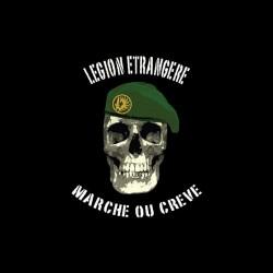Tee shirt Légion etrangere Marche ou creve  sublimation