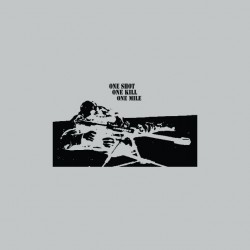 Tee shirt Sniper One shot one kill sublimation