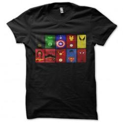 tee shirt super heros...
