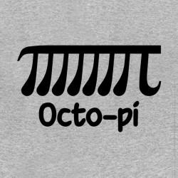 tee shirt Octo pi gris...