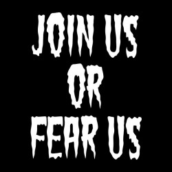 tee shirt Join us or fear...