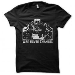 tee shirt war never changes...