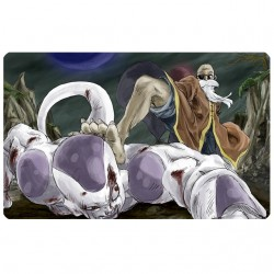 dragon ball white sublimation t-shirt