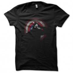 shirt captain america black...