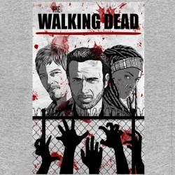 tee shirt The walking dead heath gray sublimation