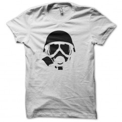 Nuclear War Gas Mask white...