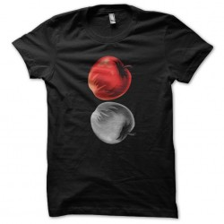 death note t-shirt apples...