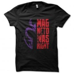 t-shirt Magneto Xman black...