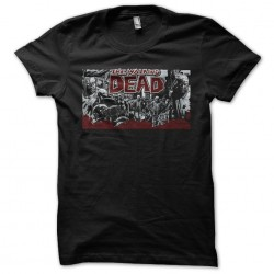tee shirt The walking dead...